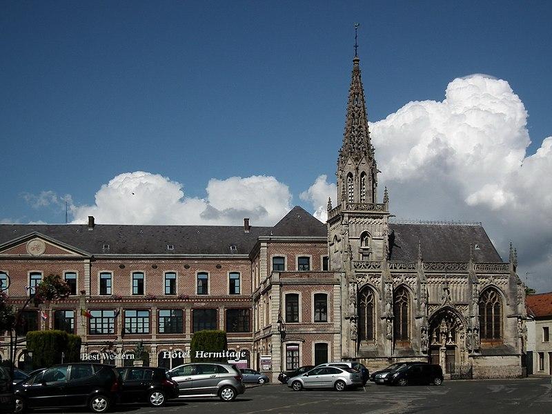 Photo du Monument Historique Hôtel-Dieu situé à Montreuil