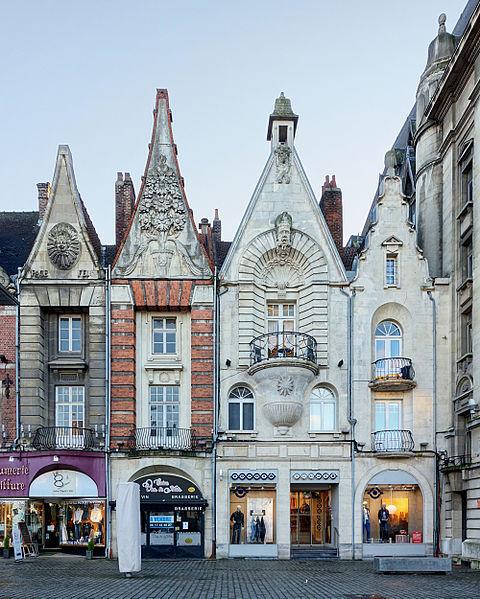 Photo du Monument Historique Immeubles situé à Béthune