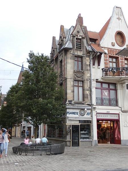 Photo du Monument Historique Immeuble situé à Béthune