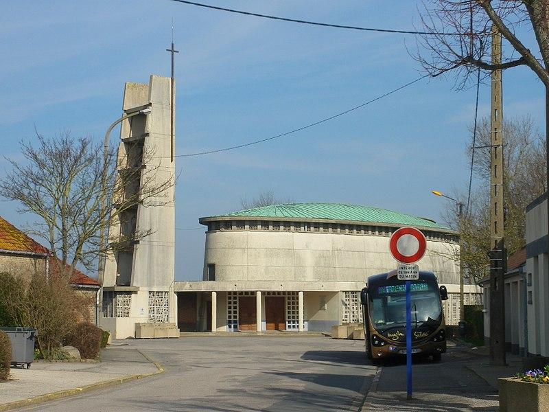 Photo du Monument Historique Eglise Saint-Martin situé à Marck