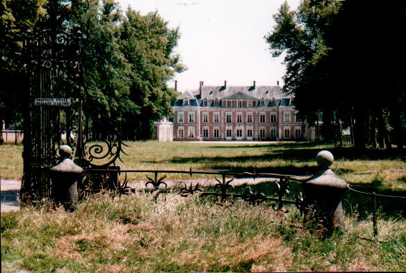 Photo du Monument Historique Château de Tramecourt situé à Ambricourt
