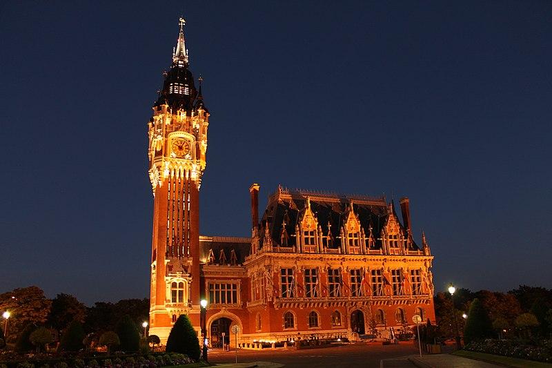 Photo du Monument Historique Hôtel de ville situé à Calais