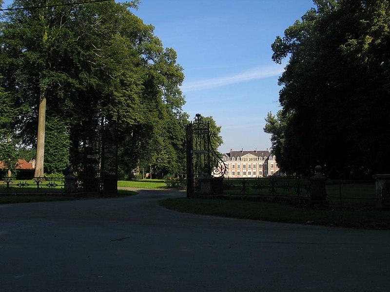Photo du Monument Historique Château de Tramecourt (également sur communes de Maisoncelle et Ambricourt) situé à Tramecourt