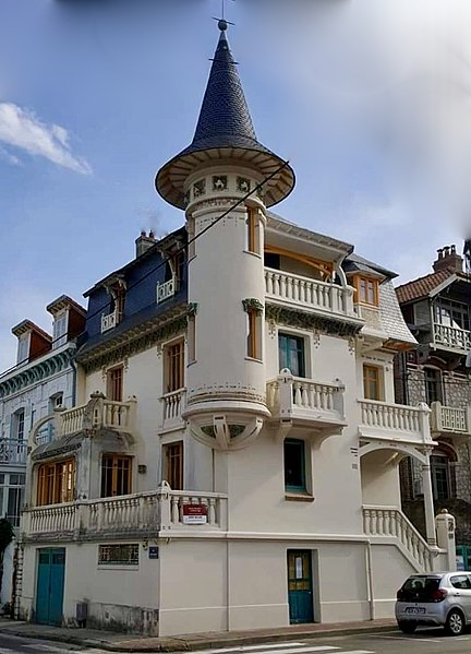 Photo du Monument Historique Villa Alexandre situé à Le Touquet-Paris-Plage