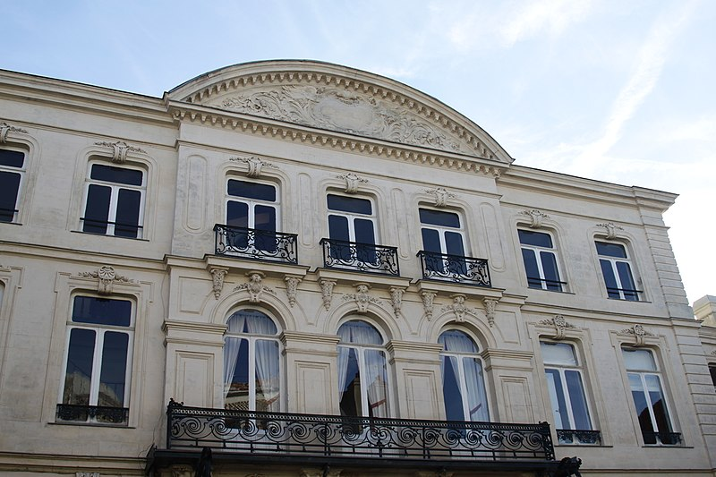 Photo du Monument Historique Hôtel particulier abritant la Chambre départementale des Notaires du Pas-de-Calais situé à Arras