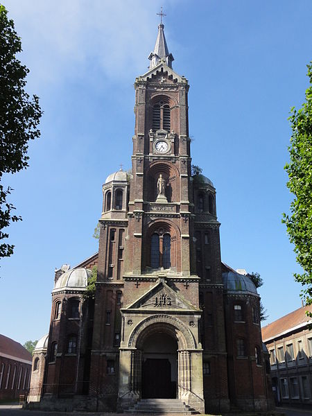 Photo du Monument Historique Eglise Sainte-Barbe situé à Noeux-les-Mines