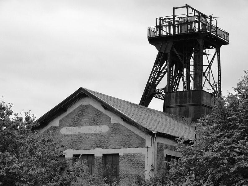 Photo du Monument Historique Fosse n° 5 de la Compagnie des Mines de Meurchin situé à Billy-Berclau