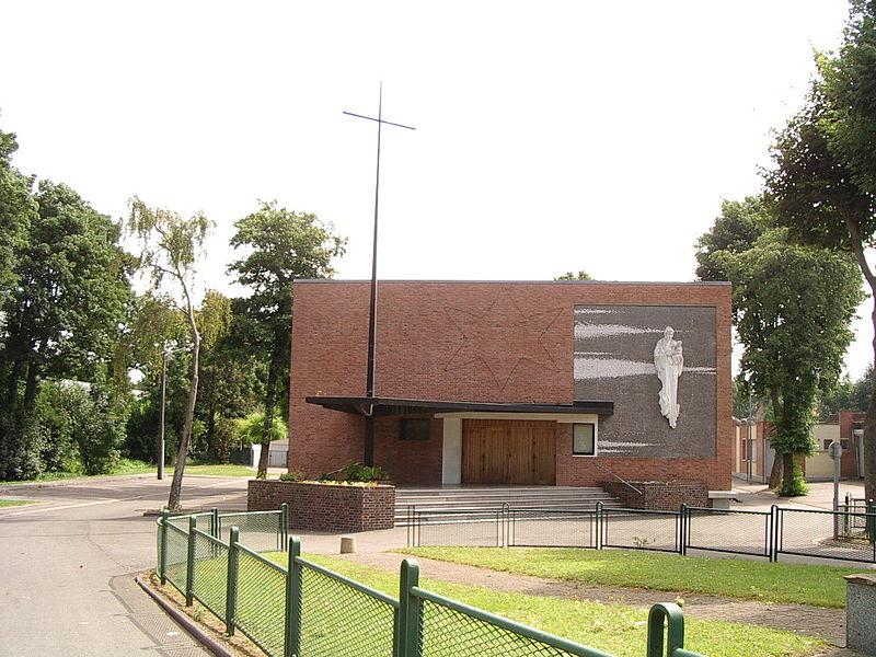 Photo du Monument Historique Église du Millénium situé à Lens