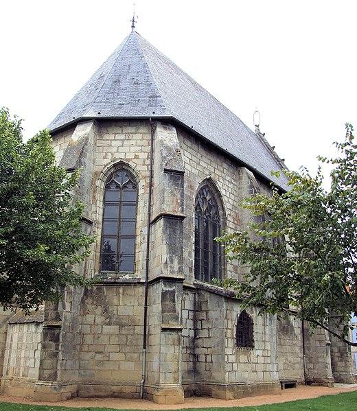 Photo du Monument Historique Sainte-Chapelle ou chapelle Saint-Louis situé à Aigueperse