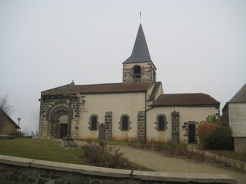 Photo du Monument Historique Eglise Notre-Dame de Comps situé à Ancizes-Comps (Les)