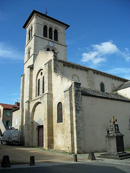 Photo du Monument Historique Eglise Saint-Martin situé à Artonne