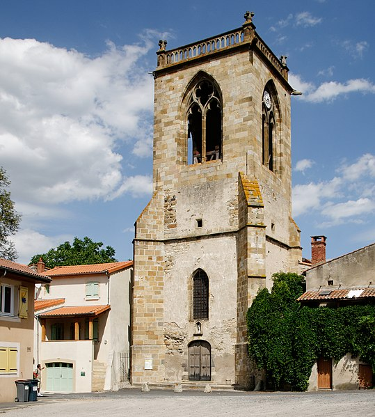 Photo du Monument Historique Eglise Notre-Dame situé à Authezat