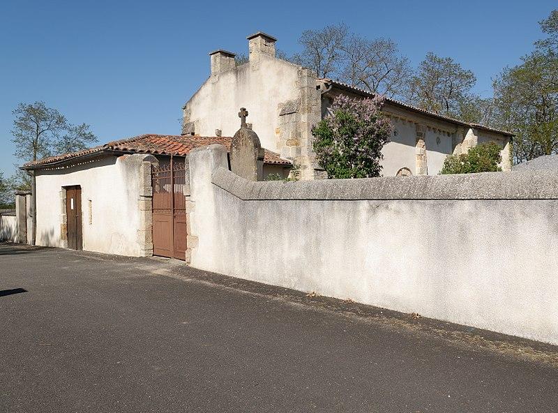 Photo du Monument Historique Eglise Saint-Aventin (chapelle du cimetière) situé à Beauregard-l'Evêque