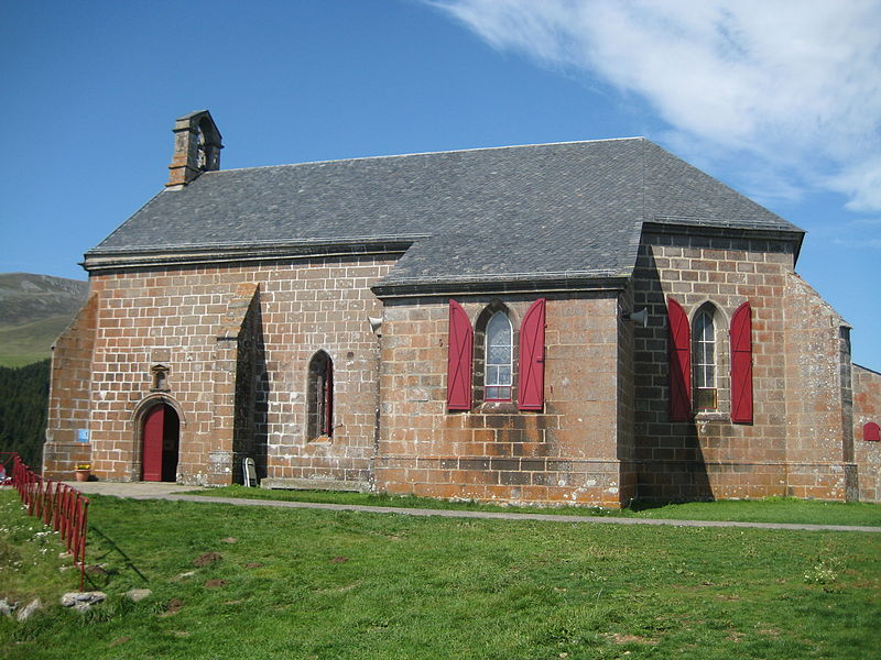 Photo du Monument Historique Chapelle Notre-Dame de Vassivière situé à Besse-et-Saint-Anastaise