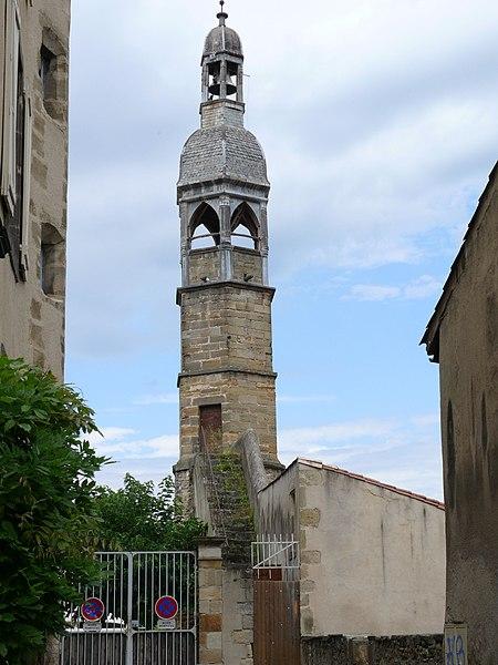 Photo du Monument Historique Beffroi situé à Billom