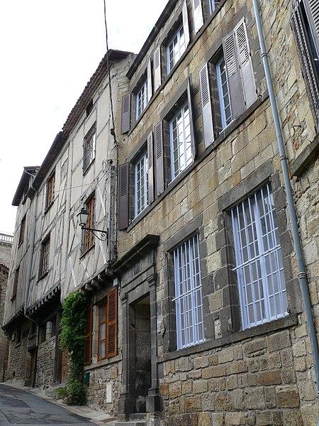 Photo du Monument Historique Maison situé à Billom