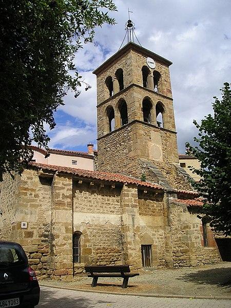 Photo du Monument Historique Eglise Saint-Loup situé à Boudes