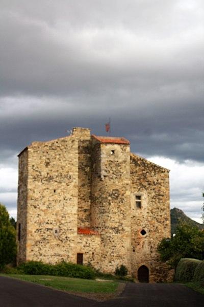 Photo du Monument Historique Ancienne commanderie de Chassaing ou de Chauliac situé à Le Broc