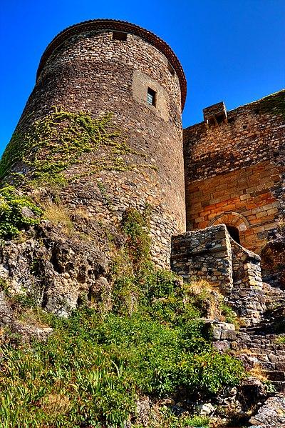 Photo du Monument Historique Restes de Château fort situé à Busséol