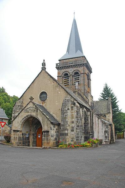 Photo du Monument Historique Eglise Saint-Etienne situé à Chambon-sur-Lac