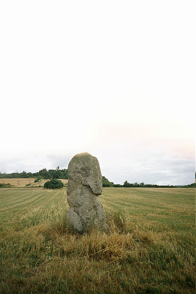 Photo du Monument Historique Menhir dit Pierre Fichade situé à Champeix