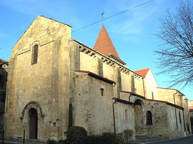 Photo du Monument Historique Eglise Saint-Etienne situé à Chanonat