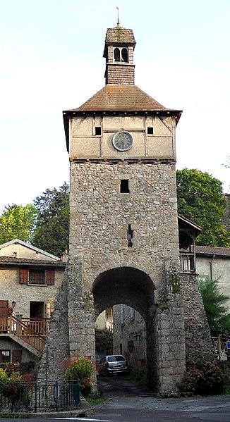 Photo du Monument Historique Beffroi situé à Châteldon