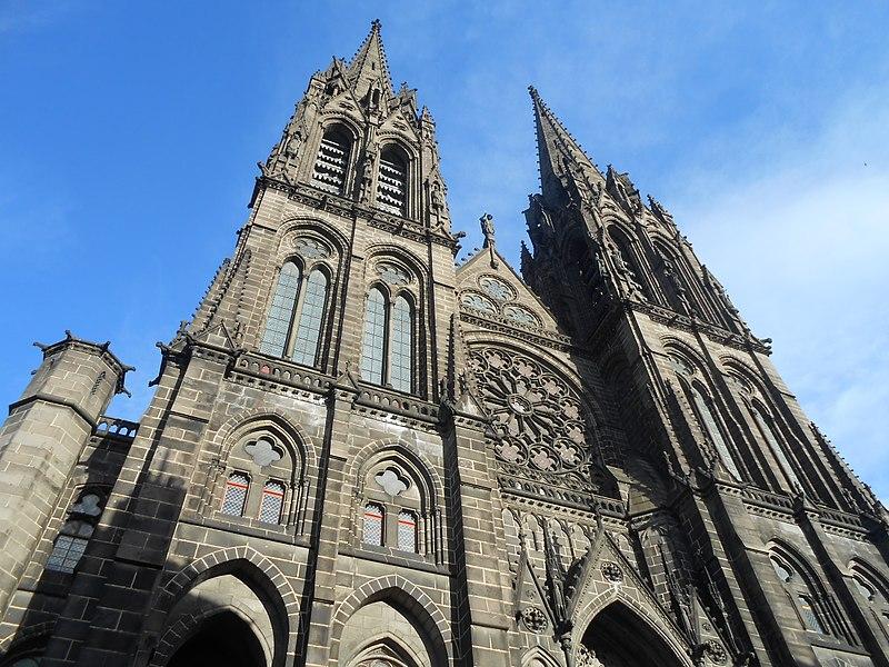 Photo du Monument Historique Cathédrale Notre-Dame situé à Clermont-Ferrand