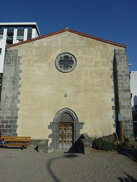 Photo du Monument Historique Chapelle du couvent de Beaurepaire ou des Cordeliers-Vieux situé à Clermont-Ferrand