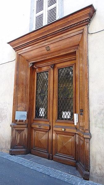 Photo du Monument Historique Ancien couvent des Ursulines situé à Clermont-Ferrand