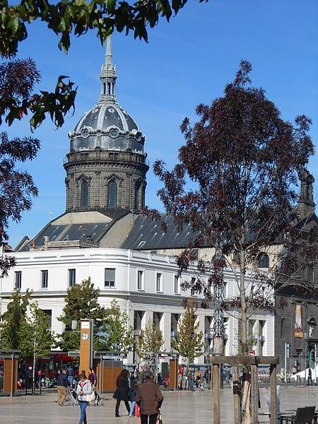 Photo du Monument Historique Eglise Saint-Pierre-des-Minimes situé à Clermont-Ferrand