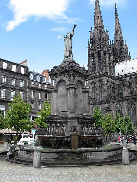 Photo du Monument Historique Galerie souterraine gallo-romaine (égout) situé à Clermont-Ferrand