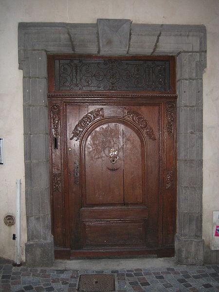 Photo du Monument Historique Hôtel Luillier d'Orcières situé à Clermont-Ferrand