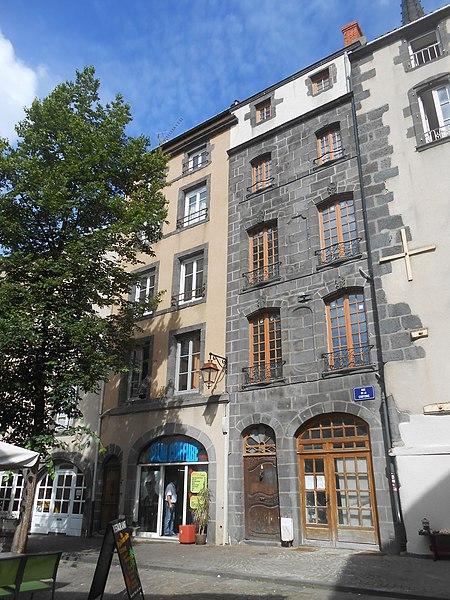 Photo du Monument Historique Maison situé à Clermont-Ferrand