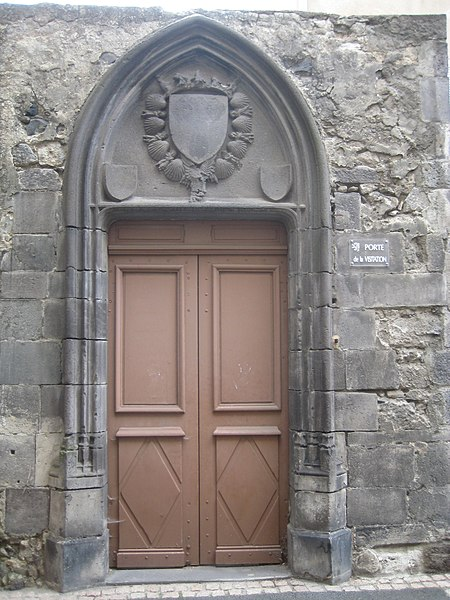 Photo du Monument Historique Ancien couvent de la Visitation, à Montferrand situé à Clermont-Ferrand