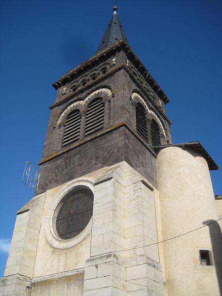 Photo du Monument Historique Eglise Saint-Genès-le-Comte situé à Combronde
