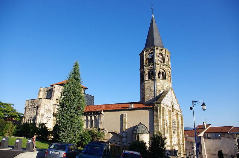 Photo du Monument Historique Eglise Saint-Martin situé à Cournon-d'Auvergne