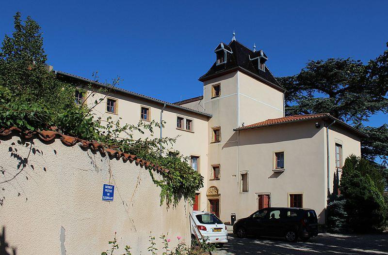 Photo du Monument Historique Château de la Barge situé à Courpière