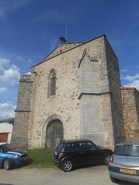 Photo du Monument Historique Eglise de Courtesserre situé à Courpière
