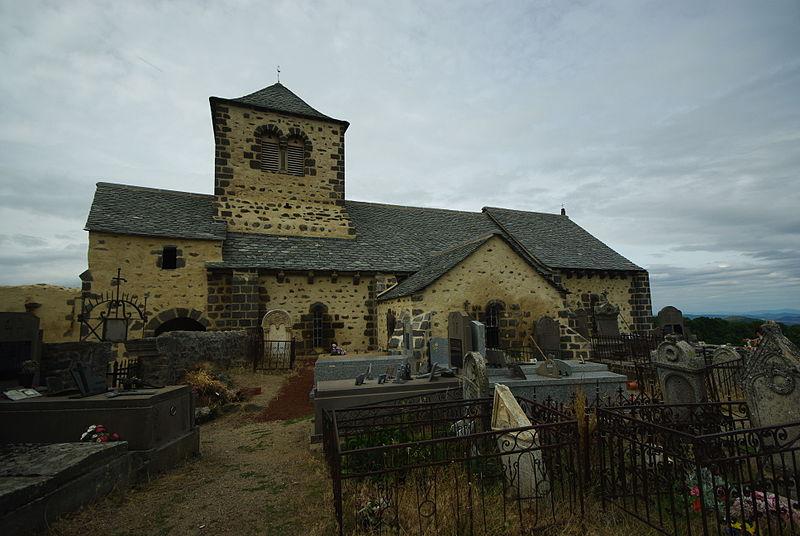 Photo du Monument Historique Eglise Saint-Géraud et vestiges du prieuré situé à Dauzat-sur-Vodable