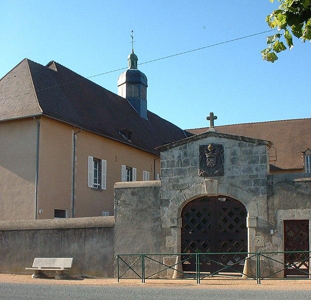 Photo du Monument Historique Hospice situé à Effiat