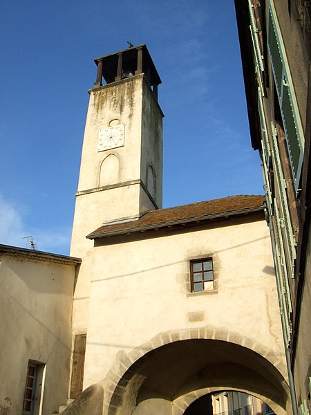 Photo du Monument Historique Ancienne porte de la ville situé à Lezoux