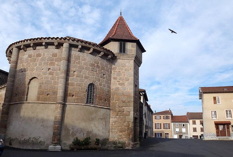 Photo du Monument Historique Eglise ou chapelle des Pénitents situé à Marsac-en-Livradois