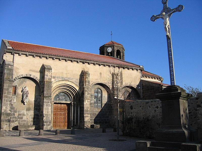 Photo du Monument Historique Eglise Notre-Dame de l'Assomption situé à Marsat
