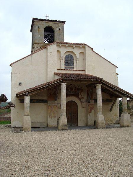 Photo du Monument Historique Eglise Saint-Pierre-aux-Liens de Moissat-Bas situé à Moissat
