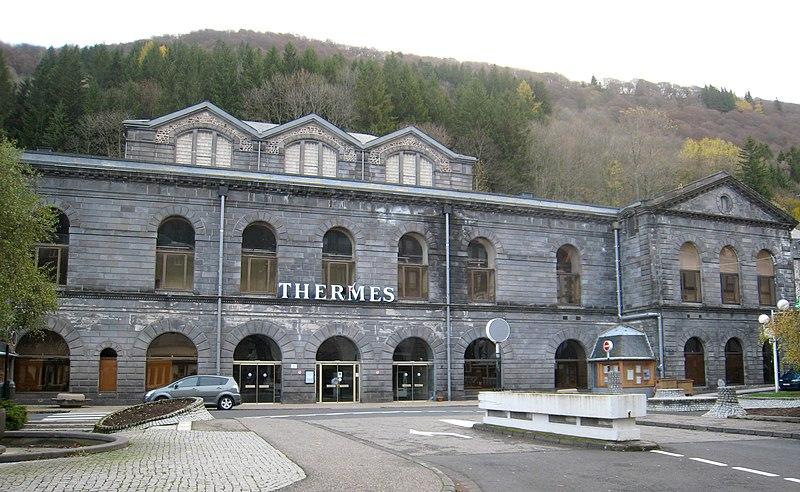 Photo du Monument Historique Etablissement thermal situé à Mont-Dore
