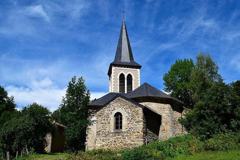 Photo du Monument Historique Eglise Saint-Pierre situé à Novacelles