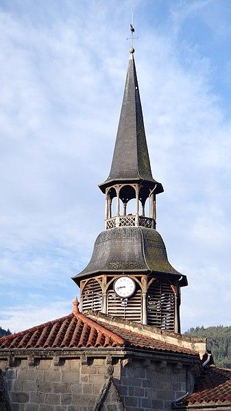 Photo du Monument Historique Eglise Notre-Dame situé à Olliergues