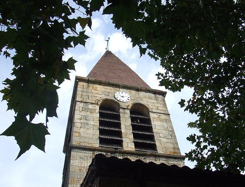 Photo du Monument Historique Eglise Saint-Bonnet situé à Orléat