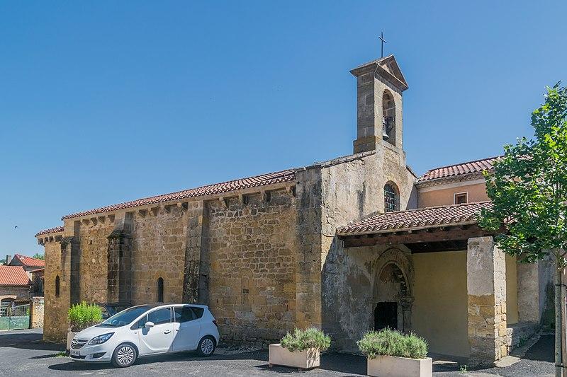 Photo du Monument Historique Eglise Sainte-Madeleine situé à Orsonnette
